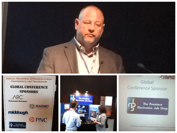 Cleveland Engineering and Manufacturing Conference picture collage