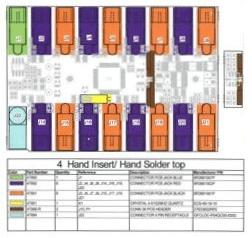 Blueprint sheet for custom electronics