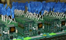 Custom electronics circuit board