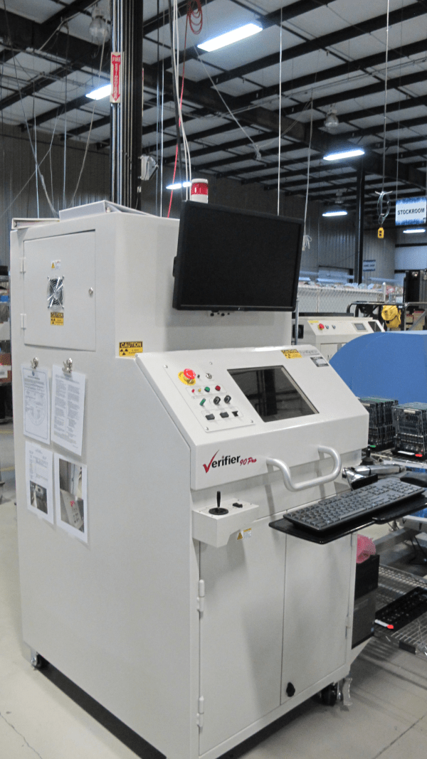 Picture of x-ray machine