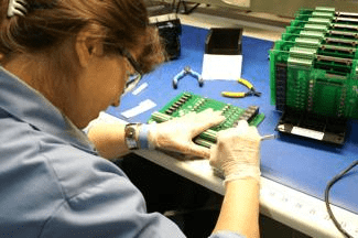 RBB electronic assembly employee