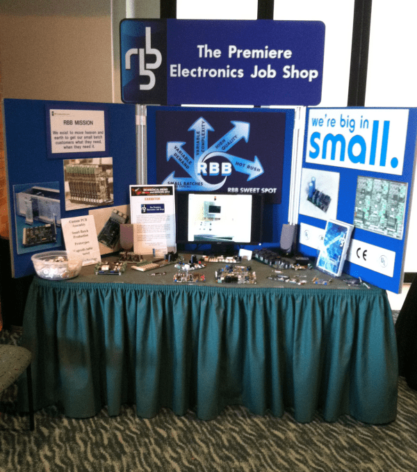RBB stand at the biomems