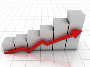 KPI chart graphic