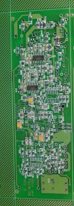 Photo of a custom circuit board