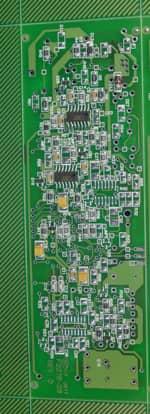 Photo of a custom circuit board