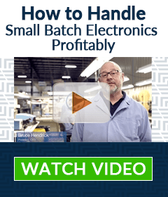 Handle Your Small Batches More Profitably